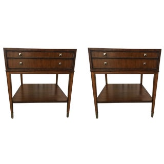 Mitchell Gold Square Side Tables - A Pair