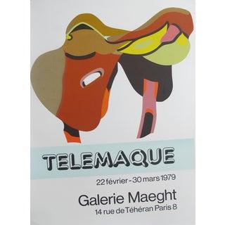 1979 Hervé Télémaque Exhibition Poster, Galerie Maeght