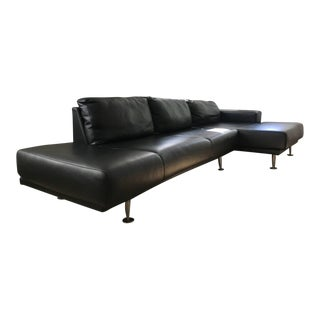 Bo Concept Contemporary Leather Sectional