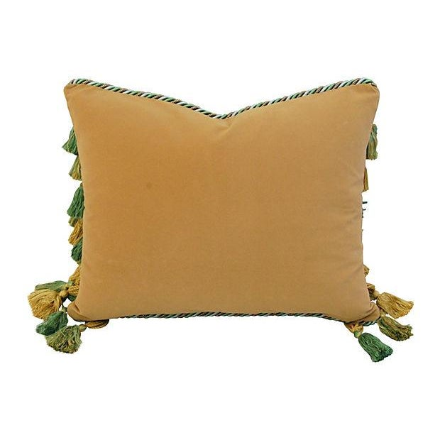 Image of Designer Lee Jofa Chinoiserie Staircase Pillow