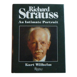 Vintage Book Richard Strauss an Intimate Portrait Wilhelm