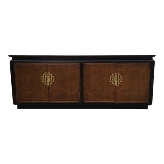 """Century Furniture """"Chin Hua"""" Asian Style Lacquered Credenza"""