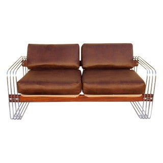 Robert Hausmann Loveseat and Lounge Chair