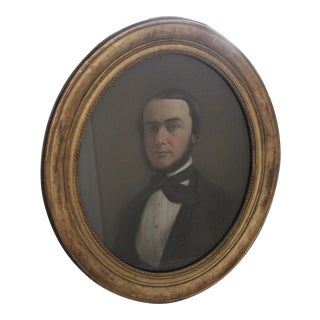 1858 Pastel Portrait of a Gentleman