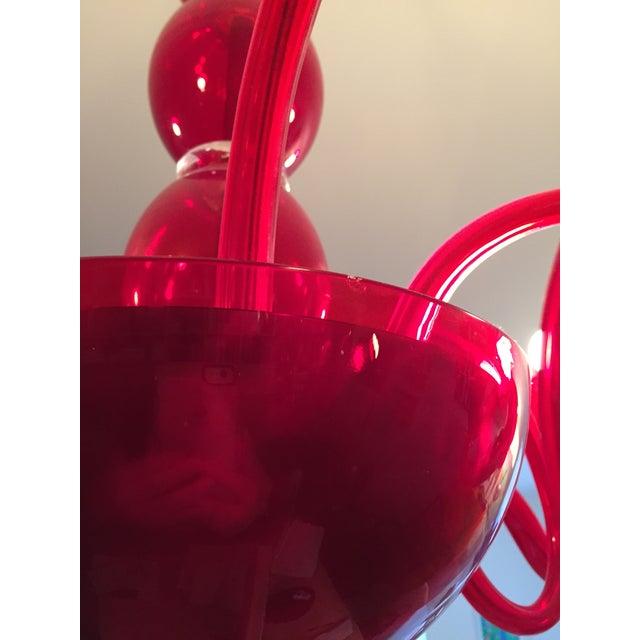 Image of Artemide 'Pantalica' Murano Glass Chandelier