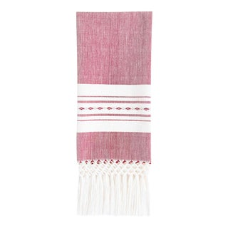 Red Madre Hand Towel