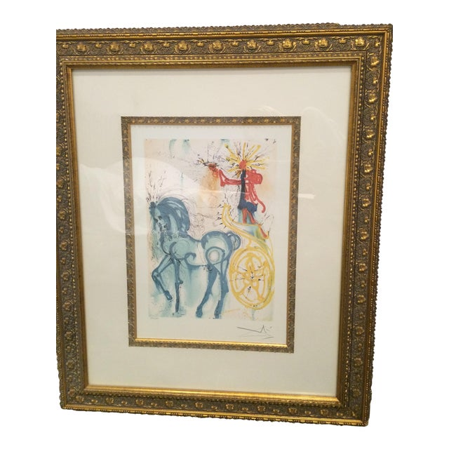 "Salvador Dali ""Le Cheval de Triomphe"" Artwork - Image 1 of 5"