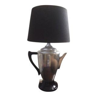 Coffee Pot Lamp