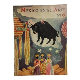 'Mexico en El Arte' No. 6 Cover Art