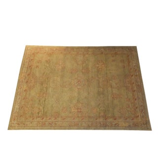"""Oushak rug, 7'8"""" x 5'8"""""""