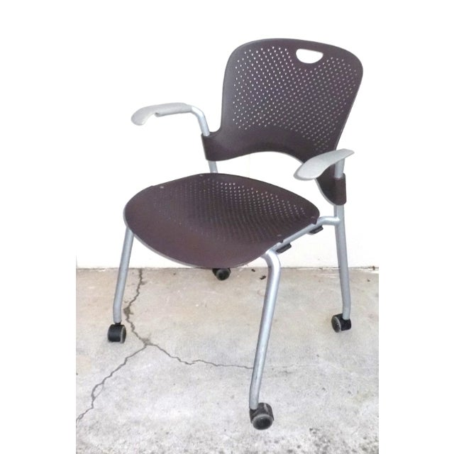 Herman Miller Casper Stacking Office Chair - Image 2 of 7