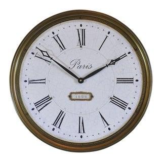 Large Timeworks Regency City Lights Paris Clock