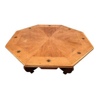 Mid-Century Drexel Hispana Octagonal Coffee Table