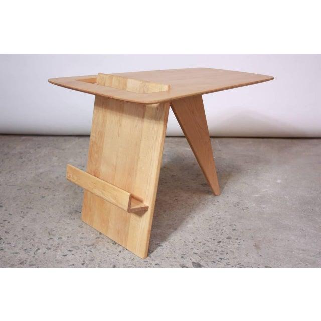 Image of Early Birch Jens Risom Magazine Table Model T-539