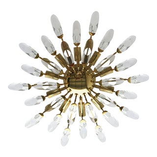 Stilkronen Clear Crystals Italian Flush Mount