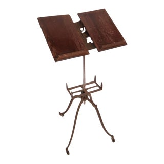 Original early 20th century dictionary stand