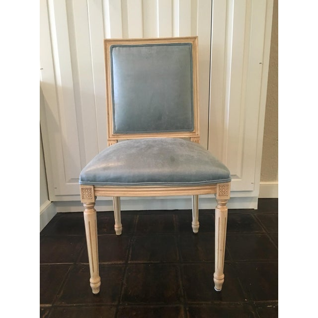 Louis Style Square Back Dining Chairs - Set of 4 - Image 3 of 7