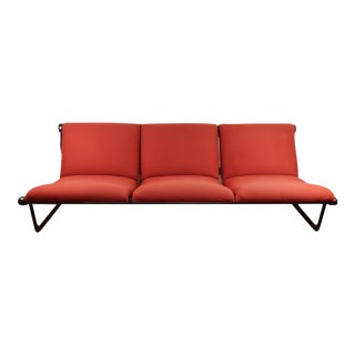 Hannah Morrison for Knoll International Red Wool Sofa