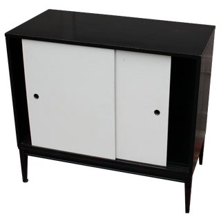 Planner Group Ebony Cabinet by Paul McCobb