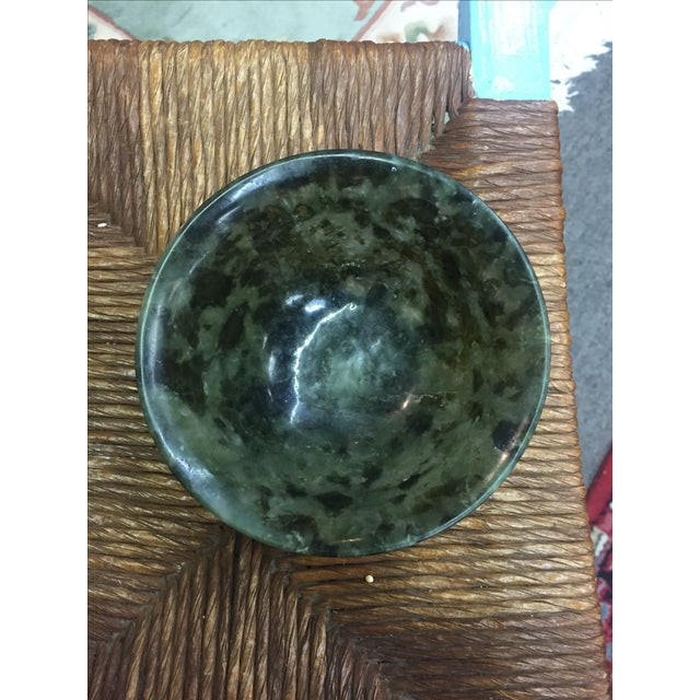 Chinese Spinach Jade Bowl - Image 3 of 7