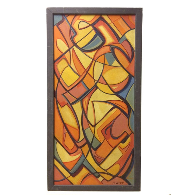 Image of Abstract Cubist Painting