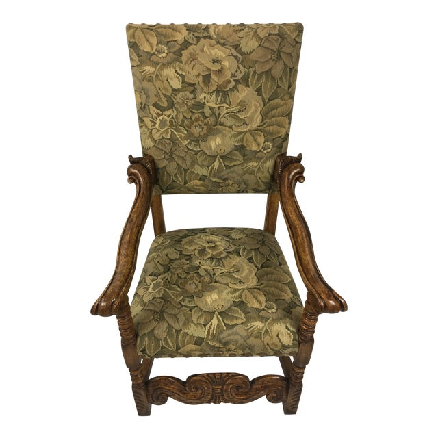 Spanish Arm Chair - Image 1 of 11