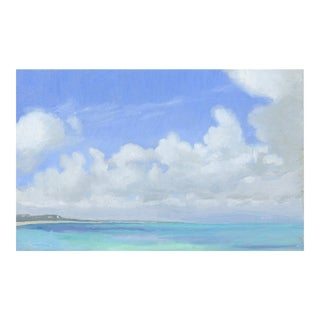 """Cumulus Clouds in the Caribbean"" Painting"