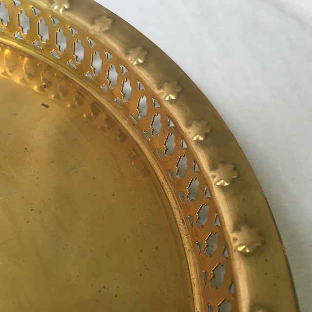 Brass Pineapple Tray - Image 6 of 6