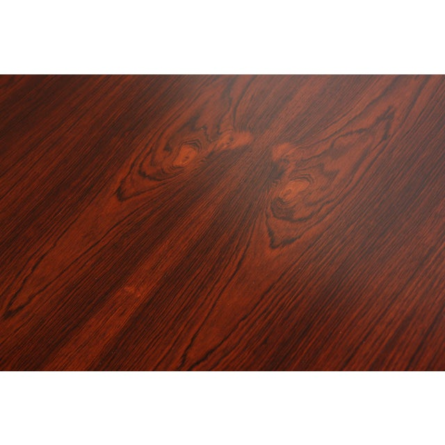 Six-Star Series Rosewood Table by Arne Jacobsen for Fritz Hansen - Image 4 of 10