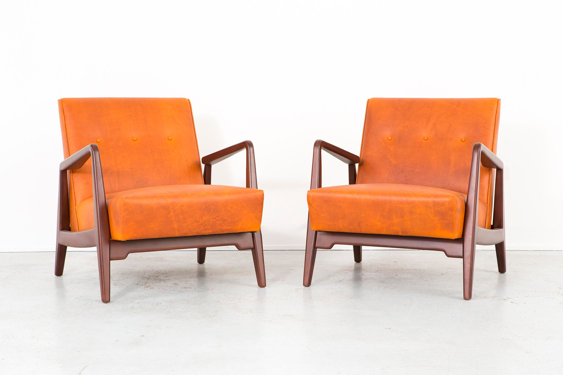 Set Of Jens Risom Lounge Chairs   Image 5 Of 11