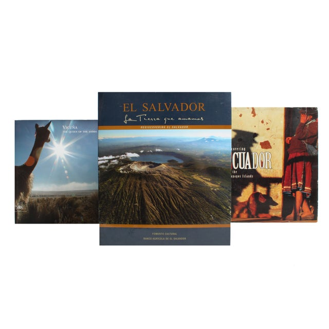 Image of South America Travel Stack - Set of 10
