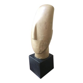 Mid Century Alva Studios Reproduction of a Cycladic Head