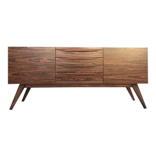 Mid-Century Modern Style Rosewood Credenza