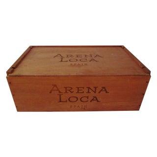 Spanish Wine Crate
