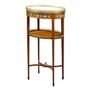 19th Century François Linke Side Table
