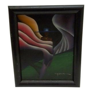 "Melanie Stewart ""Abstract Art"" Original Painting"