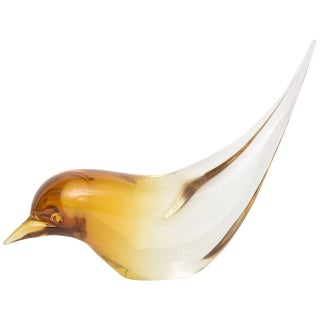 Elio Raffaeli Murano Glass Bird