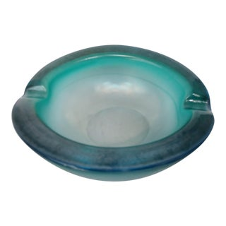 Seguso Murano Glass Ashtray