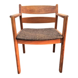 Danish Modern Teak Arm Chair