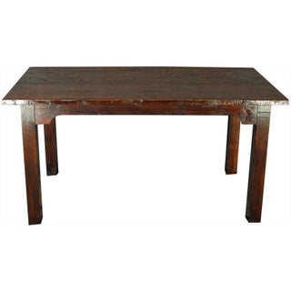 Antique Reclaimed French Country Farm Table