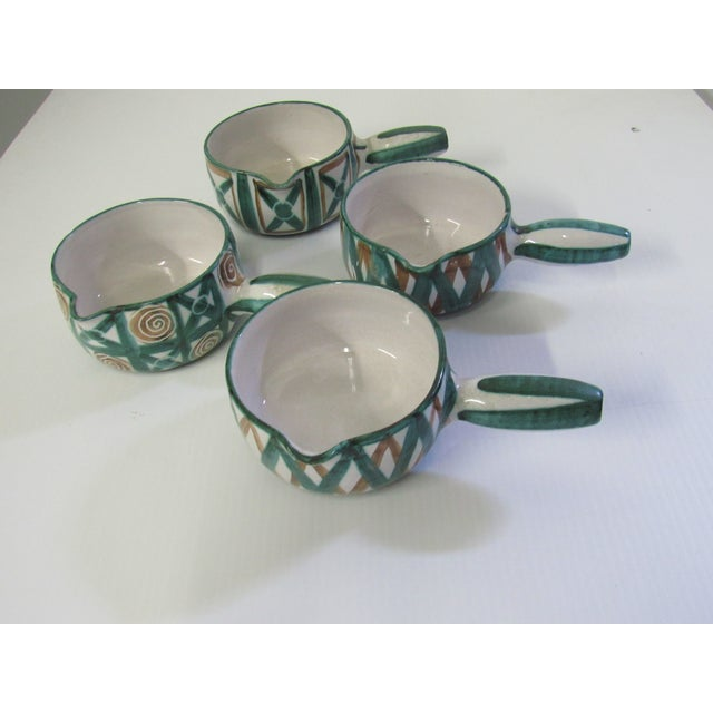 Mid-Century French Modernist Caquelons - Set of 4 - Image 5 of 7