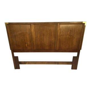 Huntley by Thomasville Campaign Style Queen Size Headboard