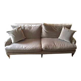 Silverly Grey Brushed Velvet Essex Sofa