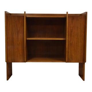 Walnut Mid-Century Cabinet
