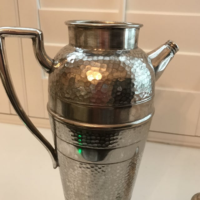 Forbes Silver Co. Art Deco Martini Shaker - Image 7 of 11
