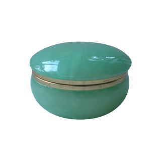 Jadeite Trinket Box