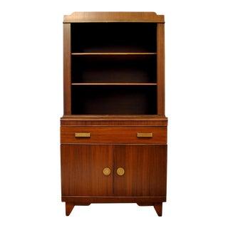 Art Deco China Cabinet & Hutch