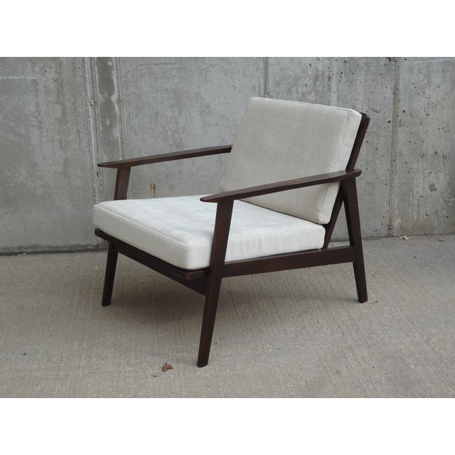 Restored Danish Modern Style Armchair - Image 2 of 11