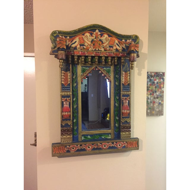 Image of Indian Inspired Wall Mirror