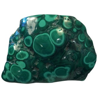 4 1/2 Lbs. Of Polished Malachite